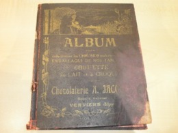 Ancienne Couverture Album CHOCOLATERIE JACQUES   VERVIERS - Old Paper