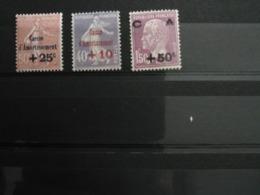 Caisse D'amortissement N° 249, 250, 251. - Frankreich