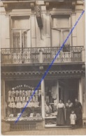 FOTOKAART, CARTE PHOTO A LOCALISER: BELGIQUE MAISON SOILLE CHEMISERIE MODERNE VERCRUYSSEN-DE SCHEPPER, POSTE 1913 A GAND - België