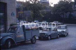1968 CITROEN 2CV AZU GRUNDIG VAN AMI PARIS FRANCE 35mm AMATEUR DIAPOSITIVE SLIDE Not PHOTO No FOTO B4941 - Diapositives