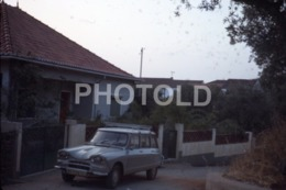 1968 CITROEN AMI 6 BREAKE VOITURE FRANCE 35mm AMATEUR DIAPOSITIVE SLIDE Not PHOTO No FOTO B4942 - Dias