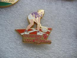 Pin's Arthus Bertrand, TECNIFIBRE, Tennis Roland Garros 92 - Tennis