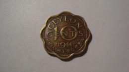 MONNAIE SRI LANKA 10 CENTS 1944 - Sri Lanka