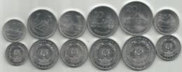 Mozambique 1982-86. High Grade Set Of 50 Centimos ,1,5,10,20 And 25 Meticais High Grade - Mozambico