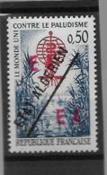 """0,50F Paludisme, Surch. """"EA"""" Rouge De Constantine + ETAT ALGERIEN - Algérie (1962-...)"""
