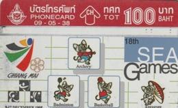 TAILANDIA. SPORTS. 18Th Sea Games 2/10. 05/1995. 564B. T 177. (096) - Sport