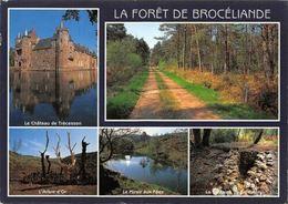 France La Foret De Broceliande, Le Chateau De Trecesson, L'Arbre D'Or Castle - Altri