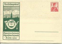 1914  Faltbrief Landesausstellung Bern  Neu - Entiers Postaux