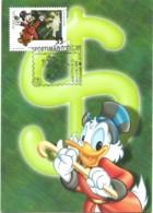 Carte Maximum - Portugal - Disney - Comics - Tio Patinhas - Scrooge McDuck - Maximum Cards & Covers