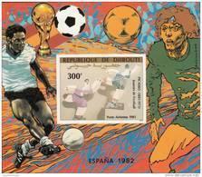 Djibouti Hb Michel 45B SIN DENTAR - Coppa Del Mondo