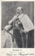 AK -  EDUARD VII - König Von England  1903 - Königshäuser