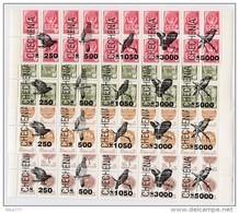 ECLATEMENT De L'URSS - TIMBRES ** Stamps Overprint Annees 1991/1993 Fauna Bird - 1923-1991 URSS