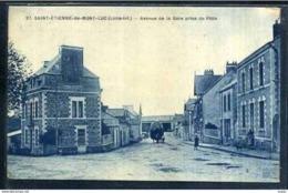 44  SAINT ETIENNE De MONT LUC   ...  Avenue De La Gare Prise Du Patis - Saint Etienne De Montluc