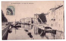 6070 - Martigues ( 13 ) - Le Canal Saint-Sébastien - N°236 - Guende Ph. à Marseille - - Martigues