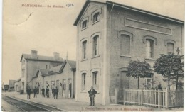 MOMIGNIES : La Station - Cachet De La Poste 1912 - Momignies