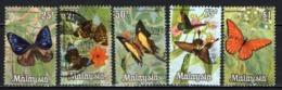 MALESIA - 1970 - Butterflies - USATI - Malesia (1964-...)
