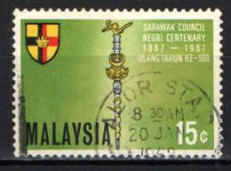 MALESIA - 1967 - Representative Council Of Sarawak, Cent. - USATO - Malesia (1964-...)