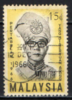 MALESIA - 1966 - Tuanku Ismail Nasiruddin - USATO - Malesia (1964-...)