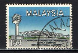 MALESIA - 1965 - Intl. Airport At Kuala Lumpur, Opening - USATO - Malesia (1964-...)