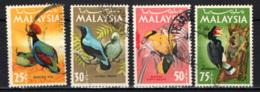 MALESIA - 1965 - Birds - USATI - Malesia (1964-...)