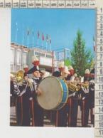 MILANO FIERA PIAZZA ITALIA INAUGURAZIONE BANDA CARABINIERI - Milano