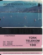 TURKEY - Fethiye/Mugla(100 Units, Plasteknik), 05/01, Used - Turquie