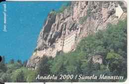 TURKEY - Anadolu 2000/Sumela Monastery(30 Units), 04/00, Used - Turquie