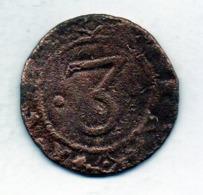 PORTUGAL, 3 Reis, Copper, Year N.D. (1640-56), King Ioannes IIII, KM #26 - Portogallo