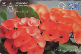 TAILANDIA. FLORES - FLOWERS. Poi Sien 2/4. 06/1996. 646C. T 259. (094) - Flores