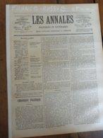 1901 LAPEL: France-Russie ;Nicolas II,l'Impératrice;St-Petersbourg;Chanson Parole-musique Cosaque; Vinasse-engrais;etc - 1900 - 1949