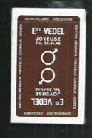 Jeu De 32 Cartes ,publicité Vedel à Joyeuse (Ardèche) - 32 Cartes