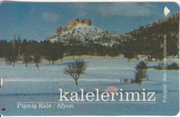 TURKEY - Pismis Kale/Afyon(30 Units), Error(shaking Image), 03/01, Used - Turquie