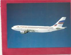 CPM . MULTIVUES . AIR CHARTER Filiale D'AIR FRANCE Et D' AIR INTER . AIRBUS A-300 ( F-BVGT )  CARTE NON ECRITE - 1946-....: Modern Tijdperk