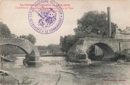 Marcophilie Militaire Guerre 1914 1918 Cachet Chemins De Fer De Campagne 10eme Section Janvier 1916 Luneville - Postmark Collection (Covers)