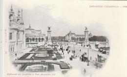 *** PARIS *** EXPOSITION UNIVERSELLE 1900  Le Esplanade Des Invalides Et Pont Alexandre III  Précurseur Neuf LUXE - Mostre