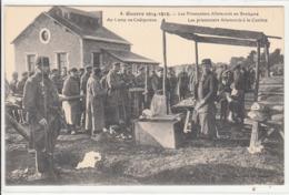 CPA- Guerre 1914-1915-Les Prisonniers Allemands En Bretagne Au Camp De Coëtquidan-1915-dép56-2scans TBE - Guer Coetquidan