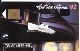 CARTE-PUCE-PRIVEE-PUBLIC- 50U-EN-419-GemA-08/92-BMW 92-Série A-R°Glacé-UTILISE-LUXE-RARE - France