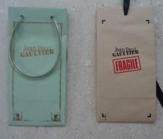 A. IMMEDIAT Rare  Sac  Sachet  Ou Pochette J.P.   GAULTIER X 2 - Parfums & Beauté