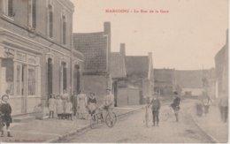 59 - MARCOING - RUE DE LA GARE - Marcoing