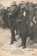 Militaire Guerre 1914 1918 Président Poincaré Sur Le Front Des Troupes Observant La Bataille Général Castelnau - War 1914-18