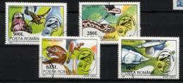 ROUMANIE ROMANA 1994, BIOSPHERE, ANIMAUX, 4 Valeurs, Oblitérés / Used. R357 - 1948-.... Repúblicas