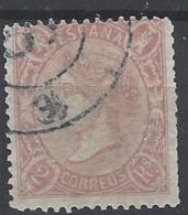 España U 0079 (o) Isabel II. 1865. Foto Exacta - 1850-68 Reino: Isabel II