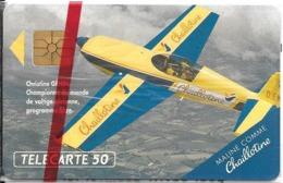 CARTE-PUCE-PRIVEE-PUBLIC- 50U-EN-440-GemA-09/92-CHAILLOTINE BOURGOIN-Série A-NSB-LUXE-RARE - France