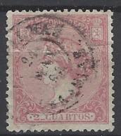 España U 0080 (o) Isabel II. 1866. Foto Exacta. Rotura Lateral - 1850-68 Reino: Isabel II