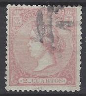 España U 0080 (o) Isabel II. 1866. Foto Exacta. - 1850-68 Reino: Isabel II