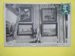 DIEPPE. Le Vieux Château. Le Musée. Le Buste De Flouest Et Les Peintures De Boudin Et Pissaro. - Dieppe