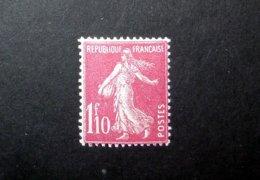 FRANCE 1927 N°238 * (SEMEUSE CAMÉE. 1F10 ROSE) - 1906-38 Sower - Cameo