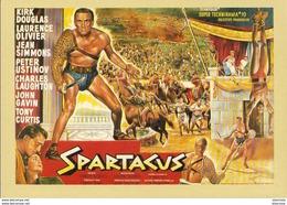 AFFICHES  La Mémoire Du Cinéma- Spartacus- 1960  ... - Plakate Auf Karten