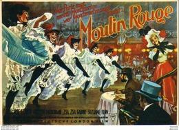 MOULIN ROUGE Avec J. Ferrer, Zsa Zsa Gabor Et John Huston   ... - Affiches Sur Carte