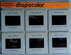 VICHY   : 6 DIAPOSITIVES BRUGUIÈRE SUR FILM KODAK - Diapositives (slides)
